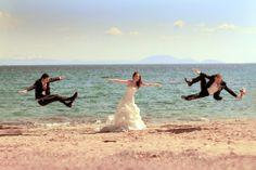 γαμπρός-νύφη-κουμπάρος