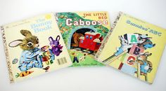Set of 3 Vintage Golden Books by SleepyOwlVintage on Etsy, $7.00