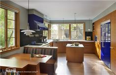 This Sustainable Urban Villa received a 2014 Best in American Living Platinum Award for Green Remodel