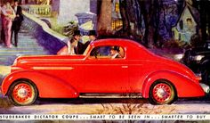 1936 Studebaker Dictator Coupe