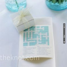 Crossword Puzzle Programs | VIA #WEDDINGPINS.NET