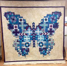 ❤ =^..^= ❤  This is one of my quilts! I made it during our Fall Quilting From the Heart Retreat. My daughter Kathleen, my Mom and myself were all planning to work on ot at retreat. We decided to invite others ...
