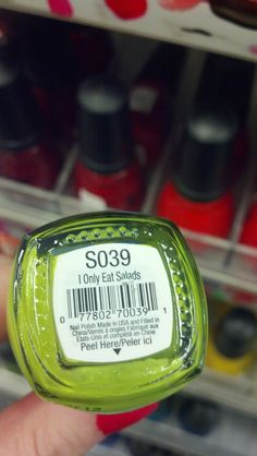 <b>Whoever names nail polish shades is sending out a serious cry for help.</b>