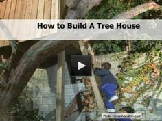 **DIY** How to Build A Tree House