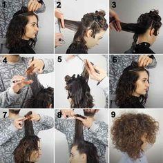 Come tagliare capelli ricci