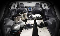 Dostosuj wnętrze nowego ix35 Fuel Cell do twojego stylu życia. Poczuj się komfortowo, przytulnie i wyjątkowo. Zadbają o to między innymi podgrzewane fotele i szyberdach.