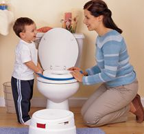 :: How to potty train your child :: Many children don't use potty because they are dull and boring. Have them use the potty and treat them with a reward of encouragement afterwards