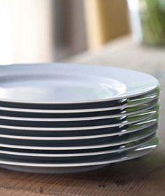 pure white dinner plates:  Barefoot Contessa - Easy Tips
