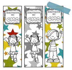 Un marque-page de bienvenue - Rentrée des classes Cycle 3, Edd, Classroom Management, Book Worms, Teaching, Comics, Books, Illustrations, School