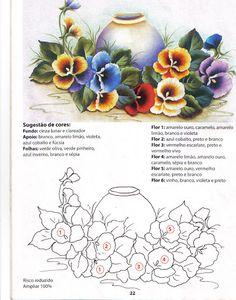 faça já pintura em tecido nº4 - Thaise Fernandes - Álbuns da web do Picasa