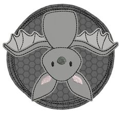 ★Fledermaus★ Doodle-Button