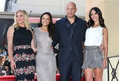 Michelle Rodriguez and Vin Diesel Photos - Vin Diesel Honored on the Hollywood Walk of Fame - Zimbio