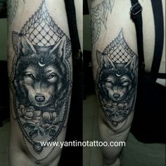 #wolftattoo #tattooubud #balitattoostudio #yantinotattoo Www.yantinotattoo.com