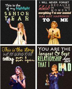 Taylor swift speeches>