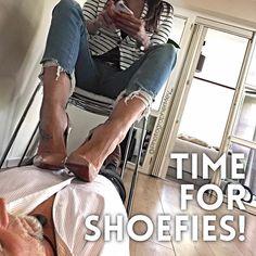 A cool way to make a shoefie - what do you guys think? ;-) #sokate #shoeshine #louboutinsokate #highheels #jeans #jeansheels #crushing #highheelstagram #shoeporn #stiletto #louboutin #christianlouboutin #ladypeep #femdom #love #fashion #feet #fetish #femaledomination #dangling #crush #obsession #luxury #fetish #legs #leggins #malivisia #MarkusMMey #scraaap (picture registered on scraaap.com)