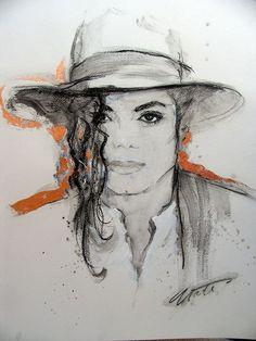 Art with Soul - by Nate Giorgio Michael Jackson Wallpaper, Michael Jackson Kunst, Michael Jackson Painting, Michael Jackson Tattoo, Michael Jackson Drawings, Michael Jackson Pics, Mike Jackson, Blue Drawings, Michael Art