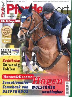 """Pferde Sport international 11/2014  """"Hagen Wulschner unschlagbar"""""""