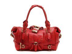 I need this red Chloe bag.