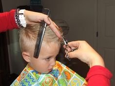 How To Cut Boys Hair The Professional way... from Simply Everthing I Love.