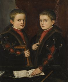 Tiziano Vecellio, called Titian, and workshop PORTRAIT OF TWO BOYS, SAID TO BE MEMBERS OF THE PESARO FAMILY Estimate  1,000,000 — 1,500,000  GBP