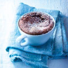 Découvrez la recette Mug cake nutella sur cuisineactuelle.fr.