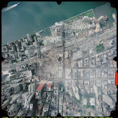 September 2001 photo - Full Aerial photo over the destroyed World Trade Center World Trade Center Site, Trade Centre, United Airlines, Ground Zero Nyc, 11 September 2001, December, Ground Zeroes, We Will Never Forget, Aerial View