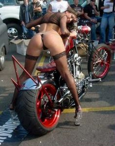 Slut on sportbike