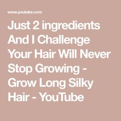 Hello Every Body My Video Show About: Traditional Beauty Secrets Just 2 ingredients And I Challenge Your Hair Will Never Stop Growing - Grow Long Silky Hair . Air Fried Okra Recipe, Long Silky Hair, Okra Recipes, 2 Ingredients, Beauty Secrets, Your Hair, Challenges, Diet, Make It Yourself
