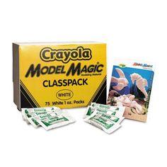 Crayola Model Magic Modeling Compound, White