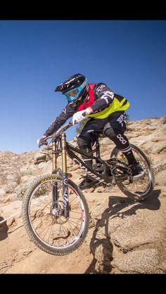 DH Bike Downhill Mountain Bike Specialized Demo Carbon Fox Racing
