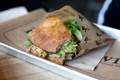 No doubt the best sandwich we've EVER had...Turkey/Bacon/Avocado sandwich at Homegrown in Freemont