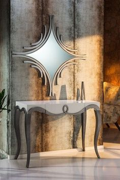 Home Decor Ideas selected Luxury Wall Mirrors Designs for your Home. With these expensive mirrors, you'll get a luxury interior design without any effort. Luxury Interior Design, Luxury Home Decor, Interior Design Inspiration, Design Ideas, Design Trends, Entryway Mirror, Entryway Decor, Entryway Ideas, Home Decor Furniture