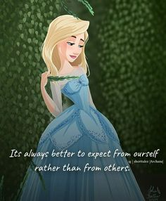 Cute Images With Quotes, Disney Princess Quotes, Confidence Boosters, Girly Quotes, My Vibe, Aurora Sleeping Beauty, Disney Characters, Inspirational, Drawing
