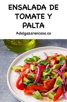 Vegan Vegetarian, Vegetarian Recipes, Healthy Recipes, Healthy Food, Tuna Salad, Green Beans, Salsa, Vegetables, Frijoles