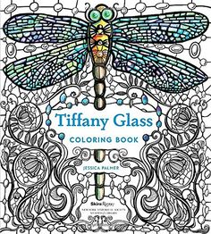 Tiffany Glass Coloring Book By Jessica Palmer