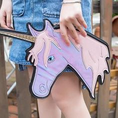Unilovers is an online store that offers unique and stunning unicorn accessories, bedding sets, clothing at an affordable price. Mini Messenger Bag, Mini Crossbody Bag, Purse Wallet, Clutch Bag, Football Outfits, Handbag Stores, Cute Unicorn, Chain Shoulder Bag, Womens Purses
