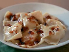 Pierogies recipe from Home Made in America with Sunny Anderson via Food Network