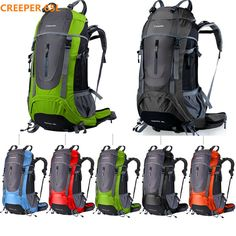 a81460b0a487 Brand Creeper waterproof women and men outdoor sport travel backpack for  climbing camping hiking cycling laptop bag