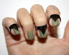 Metal jewelry designed for the tips of your nails... yay or nay? Can't decide.