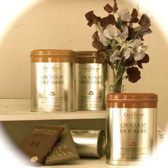 Cocoa powder from Café-Tasse - find it on www.vintage-kompagniet.dk