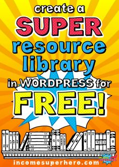 Learn how to create a free resource library in Wordpress   Grow your email list by offering access to your free library to your readers   Click to find out how to easily set one up yourself