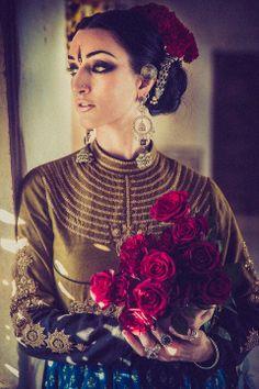 Model- Collena Shakti Styling/Garment- Dhruv Singh Photography- Devansh