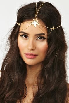 Starburst Headpiece--is it too young? it's so badass.