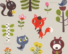 Helen Dardik is awesome. I want this as wallpaper in Jack's room.
