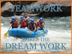 Ocoee Rafting and Nantahala Rafting are at their best when with the crew of Carolina. Come experience the Best Ocoee River Rafting in the Southeast. Ocoee River, Rafting, Teamwork, Water, How To Make, Image, Gripe Water, Group Work, Aqua
