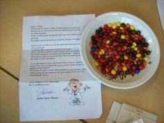 Project ziek zijn. Een brief van de dokter om pilletjes uit te zoeken. Pet Health, Kids Playing, Oatmeal, School, Breakfast, Food, Stage, Ideas, Apothecaries