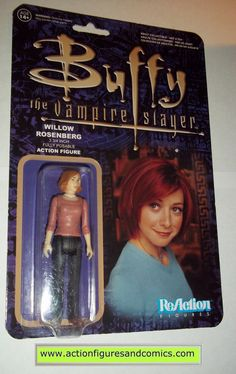 Reaction figures Buffy the Vampire Slayer WILLOW RESENBERG funko toys action moc mip mib