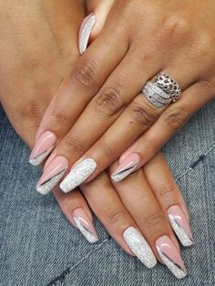 - - Nägel Design - Devil - The most beautiful picture for square nails . - – – Nails Design – Devil – The most beautiful picture for square nails, … – - Cute Acrylic Nails, Cute Nails, Pretty Nails, Gel Nails, Xmas Nails, Christmas Nails, Winter Christmas, Nails Kylie Jenner, French Tip Nails