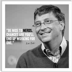 Bill Gates Quote $36.99 #nerd #geek #motivation