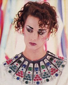 25 Ideas For Fashion 80s 1980s Boy George #fashion